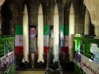 İran Yer Altı Füzelerini Tanıttı