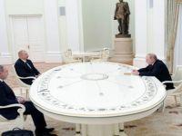 Putin, Aliyev ve Paşinyan Masada