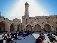 Gazze'de ilk Kez Cuma Kılındı