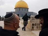 Siyonistlerden Hz Muhammed'e Hakaret Mitingi