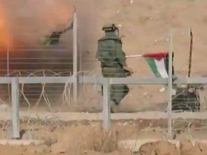İsrail Askerlerine Bayraklı Tuzak